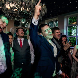 wedding reception at shottle hall