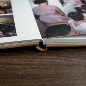 morley hayes wedding album spine