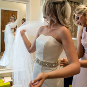bridal prep at packington moor