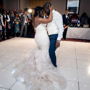 first dance at eastwood hall wedding venue