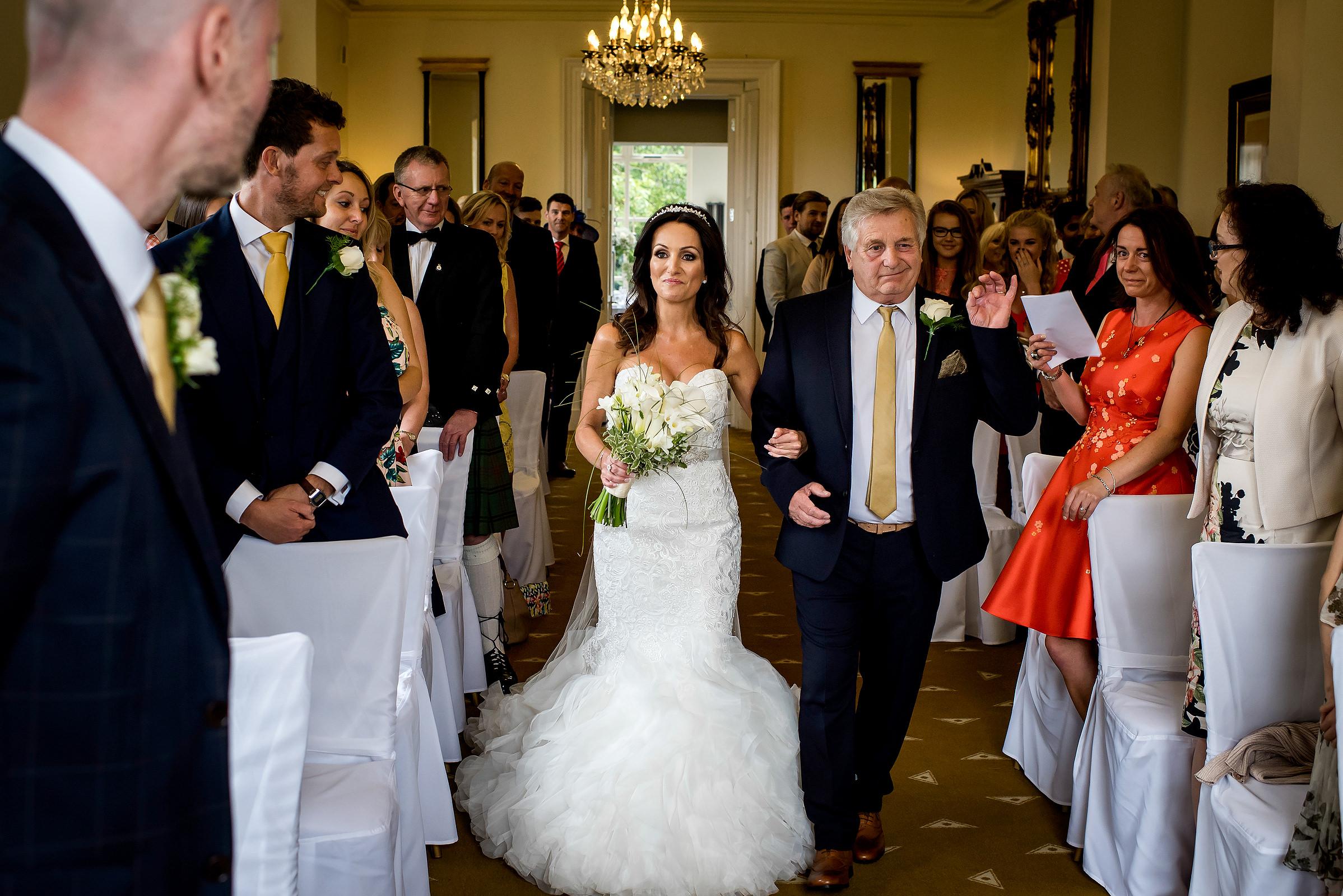 Wedding ceremonies at Shottle Hall