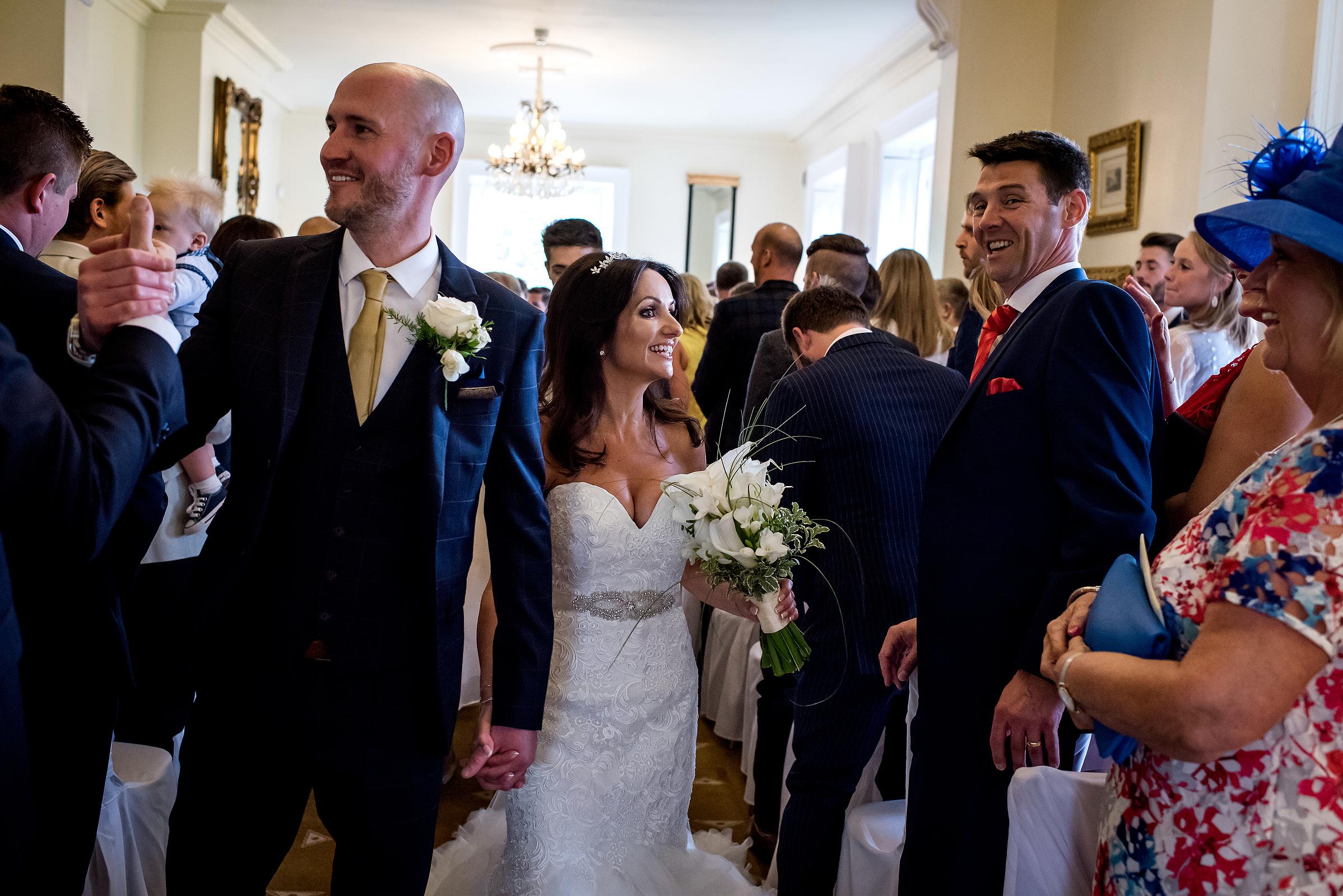Summer wedding at Shottle Hall