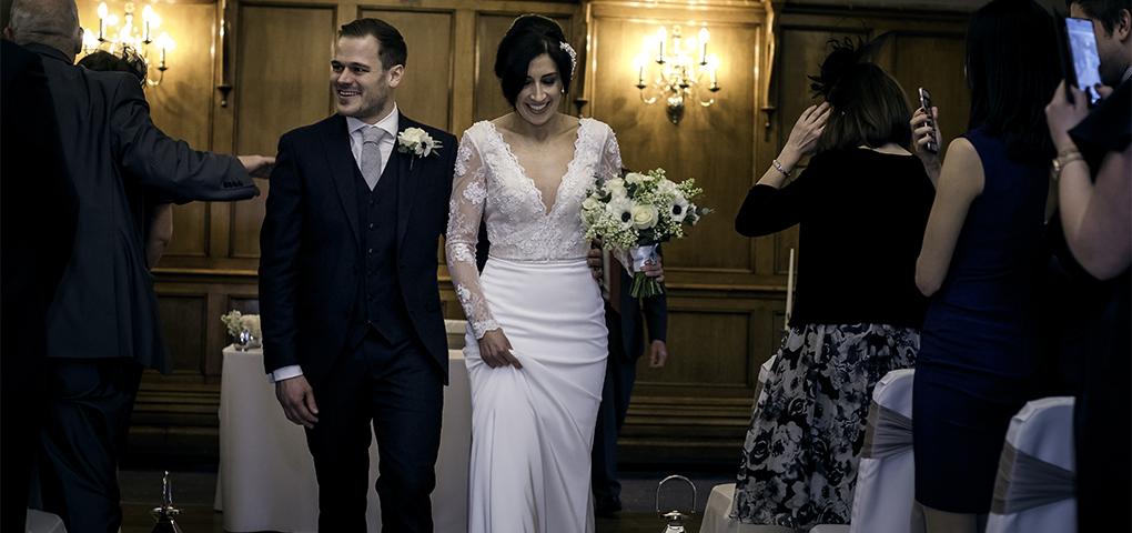 The Maynard Hotel wedding