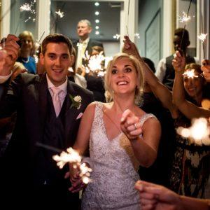 sparklers at shottle hall