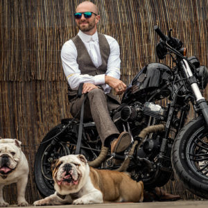 Harley Davidson at Wedding