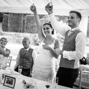 osmaston park marquee wedding