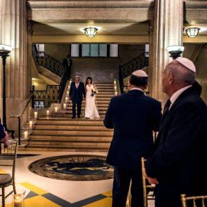 Banking Hall Wedding