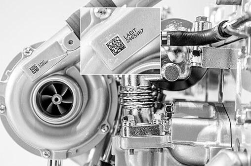 turbocompressore Znakowanie laserowe i test szczelności w jednej maszynie