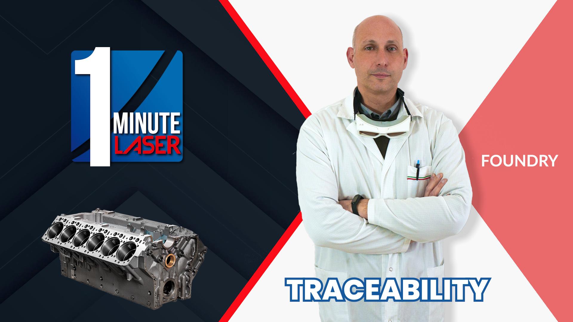One-Minute-Laser-1-Traceability-1D-e-2D-codes_COPERTINA Fonderia