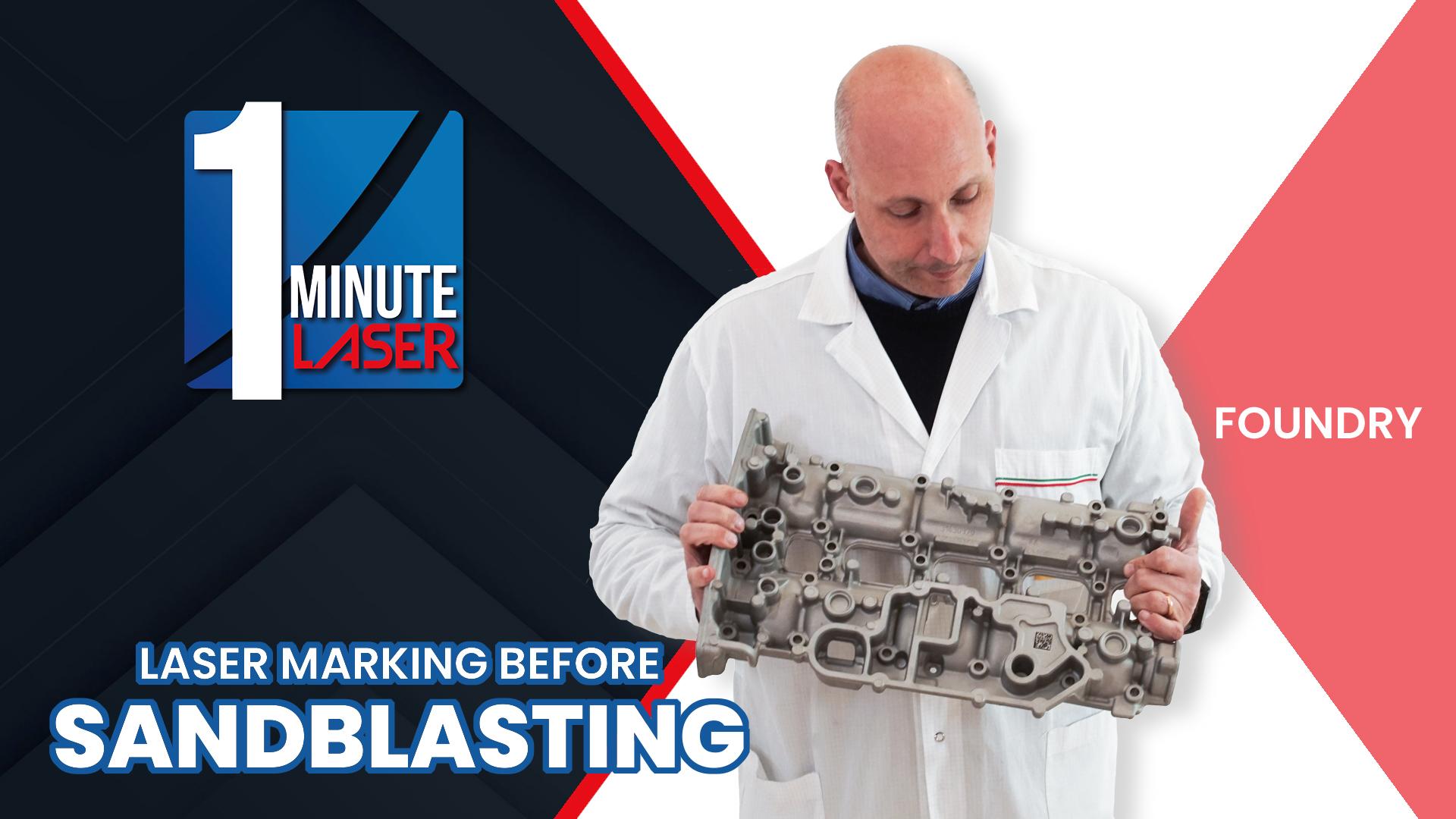 One-Minute-Laser-4-Sandblasting_COPERTINA Fonderia
