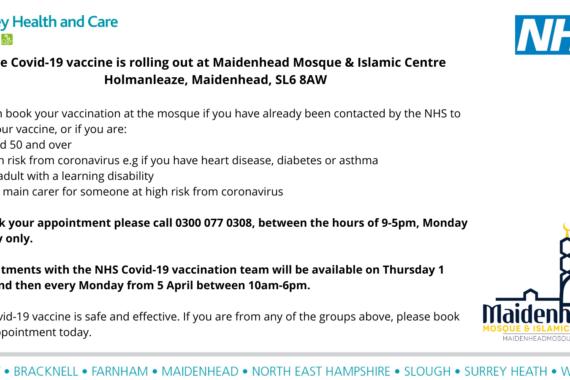 Mosque vaccinations Maidenhead (5)
