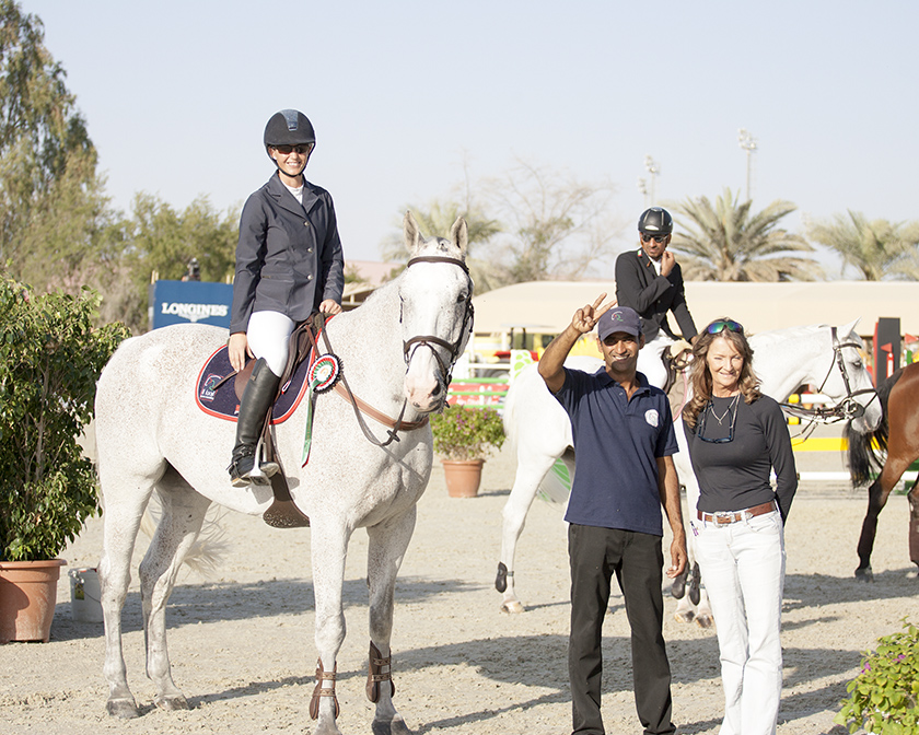 Team Photo with Oman 1st at Al Ain
