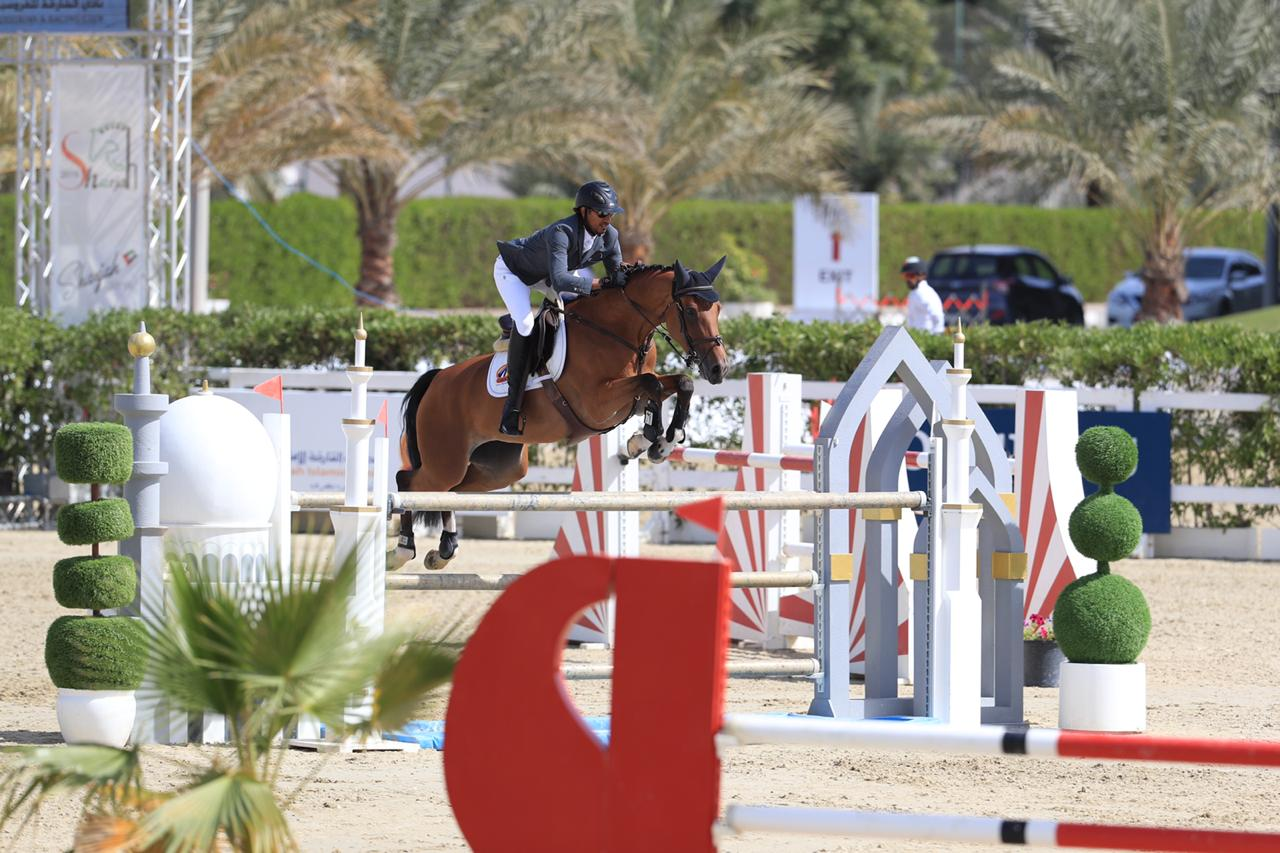 Hasina Bella MFS 2nd Sharjah FEI Group VII Finals 2 Feb 2019 (1)