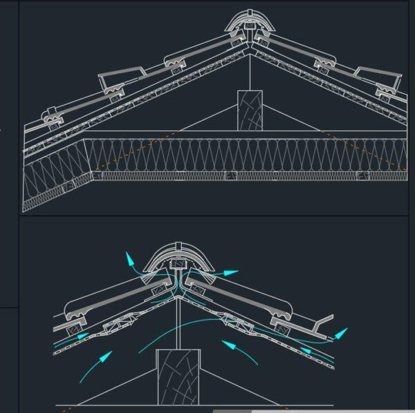 çatı detayları dwg