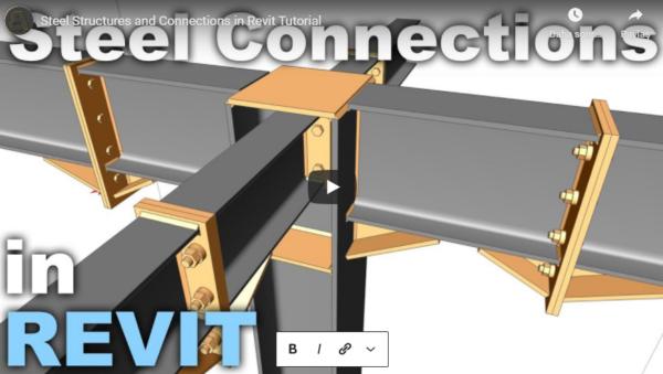 Revit ile Çelik Yapılar ve Bağlantılar