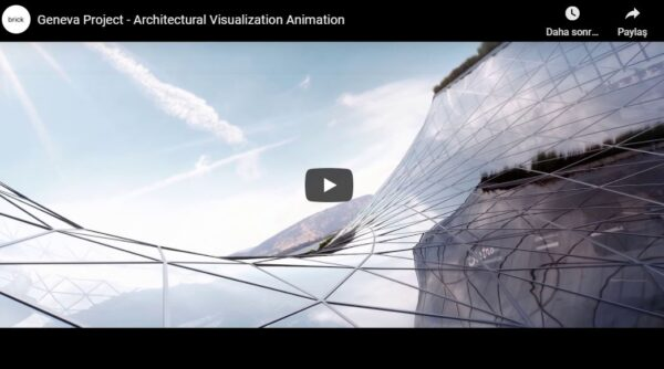 Cenevre projesi mimari animasyon