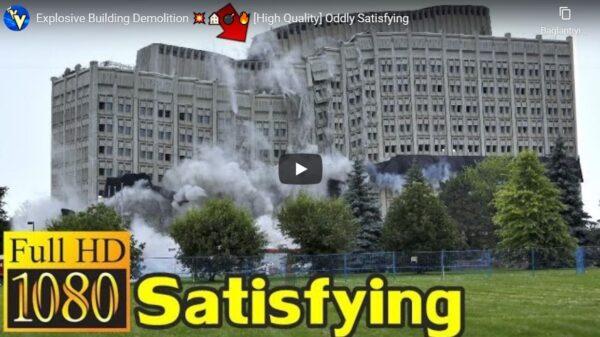 Bina Yıkım Metotları (Patlayıcı)