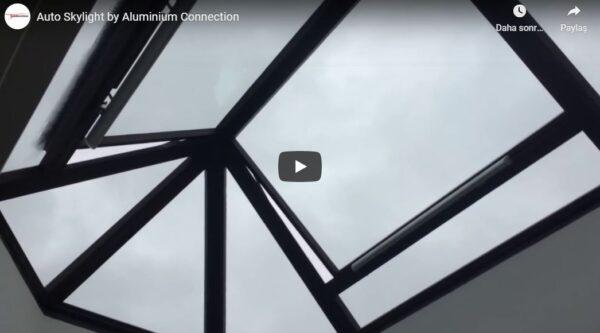 Alüminyum Otomatik Skylight