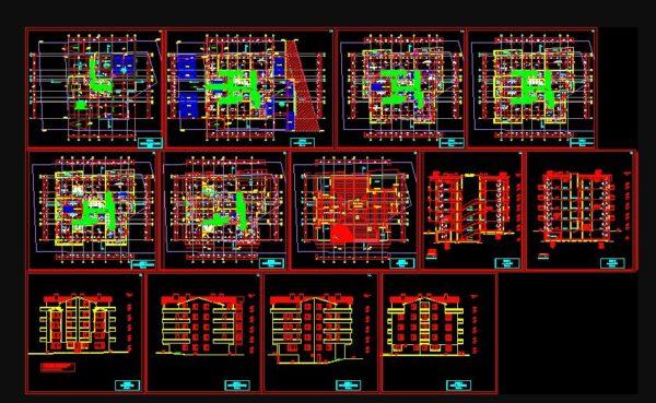 Kamu Yapıları Projeleri Dwg