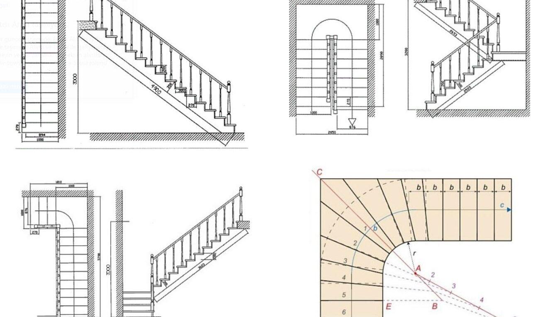 Merdivenler ve Merdiven Türleri