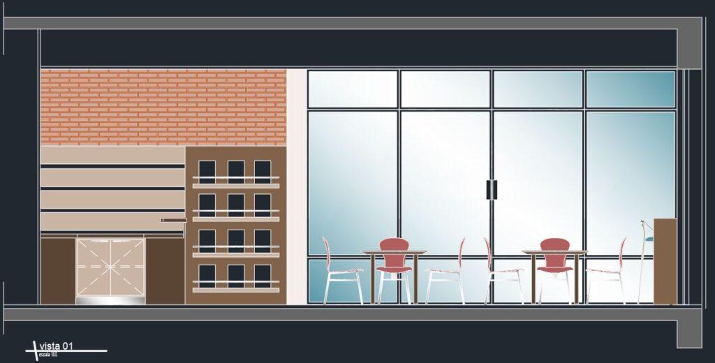 Cafe tasarım projesi
