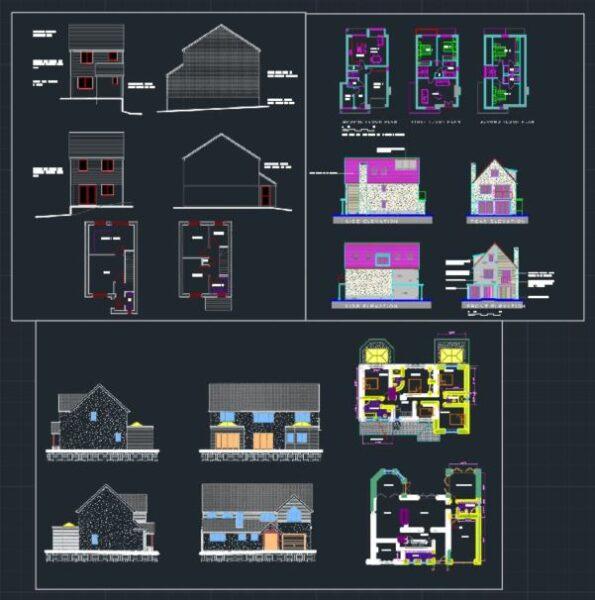 Villa Projeleri Uygulama Örnekleri