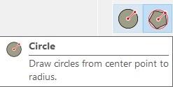 Sketchup Circle komutu