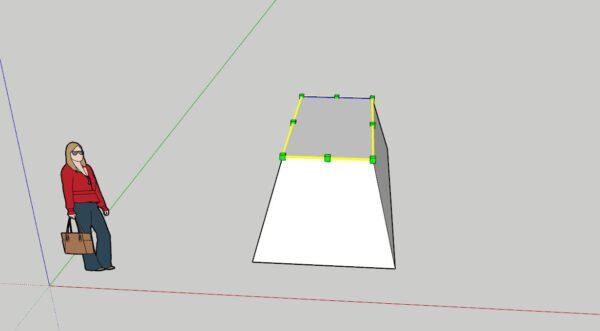 Sketchup Ders Notları Yeniden Ölçeklendirme (Scale)