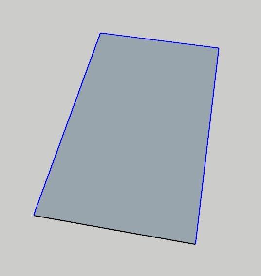 Sketchup Offset Komutu ile istenilen alanın paralel kopyalanması