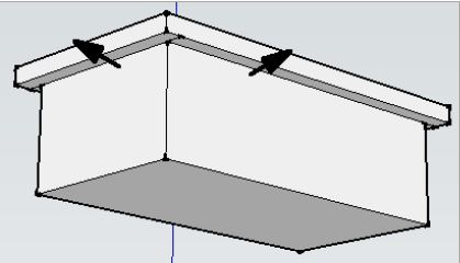 Sketchup Push pull ctrl kullanımı