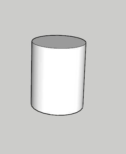 Sketchup Push pull ile özel şekil