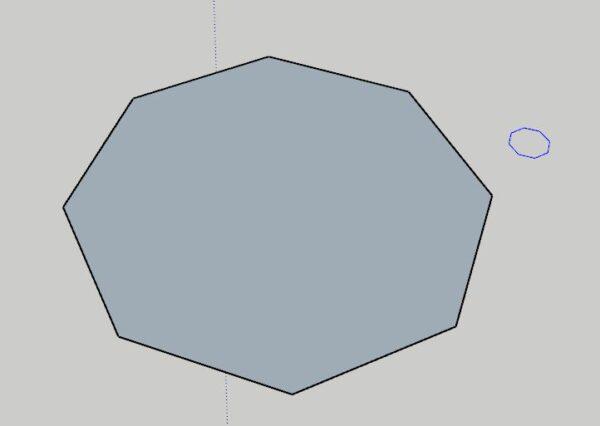 Sketchup Ders Notları Tool Set sketchup Polygon aracı