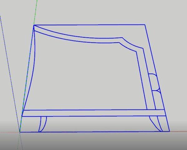 sketchup autocad dosyası üzerinden modelleme yapma