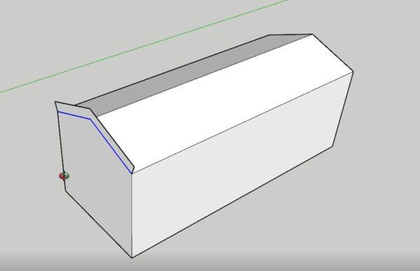 sketchup çatı çalışma şekli