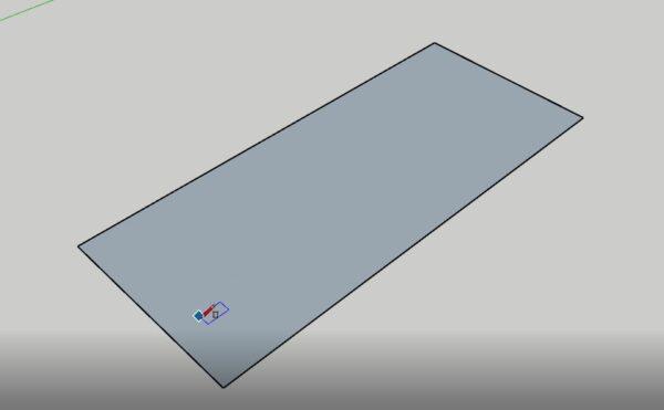 sketchup çatı çizim teknikleri