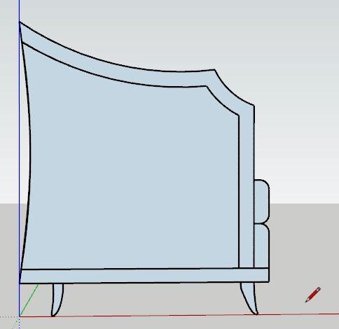sketchup koltuk tasarımı