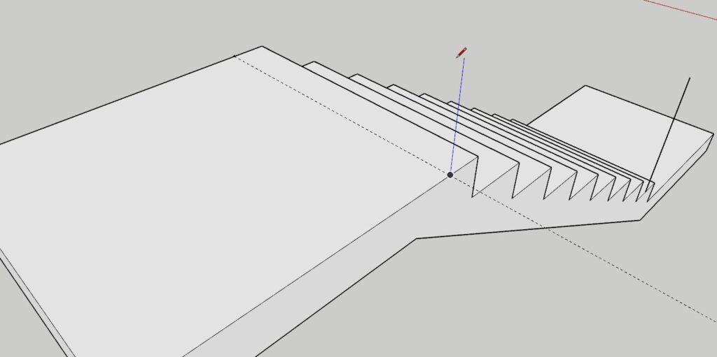 sketchup merdiven korkuluk yapımı