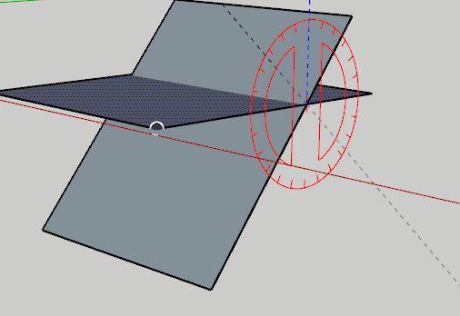 sketchup rotate komutu ile kopyalama