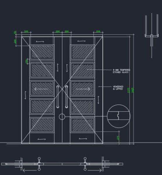 Alüminyum Sürgülü Kapı Sistemleri