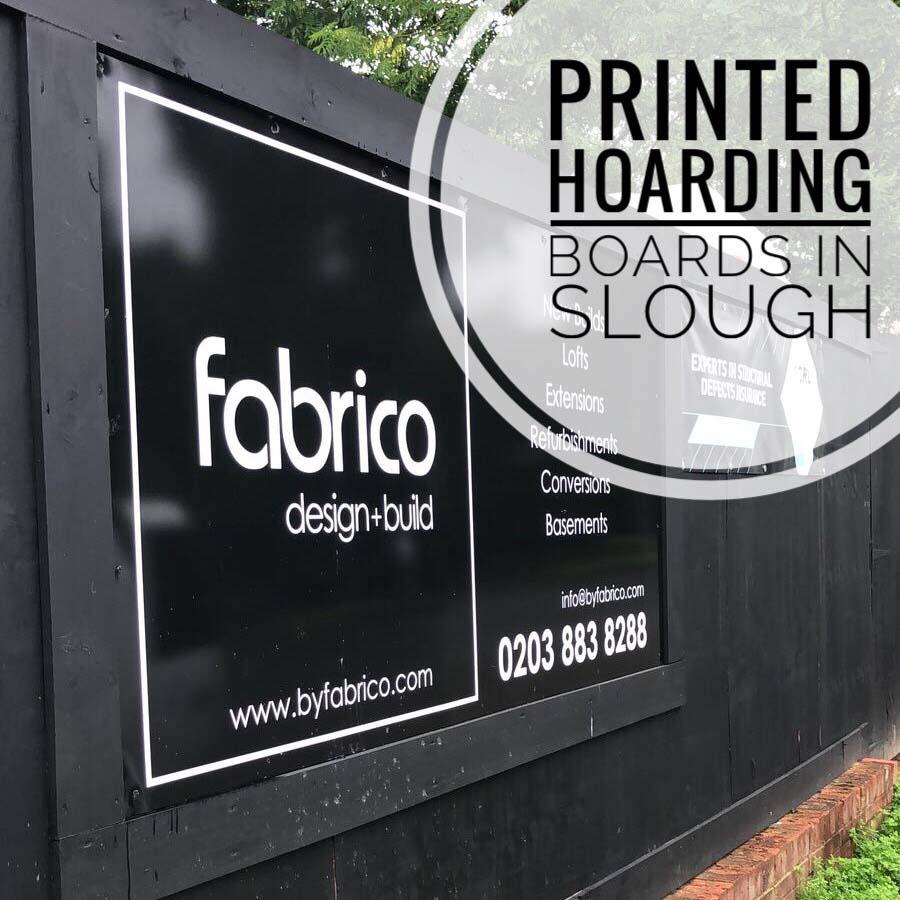 Site Hoarding Board Printing