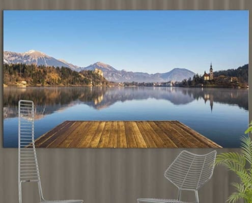 Canvas-Printing_FineArt_Prints_Lake_Bled