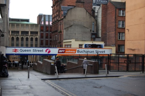 Buchanan Street Station in Glasgow