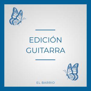 Edición Guitarra