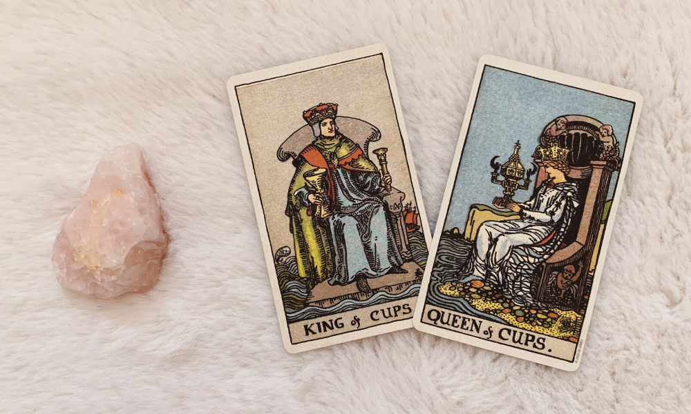 The King and Queen of Cups Together