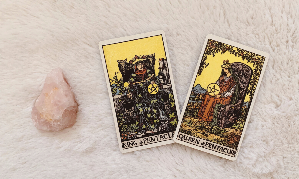 King and Queen of Pentacles Together