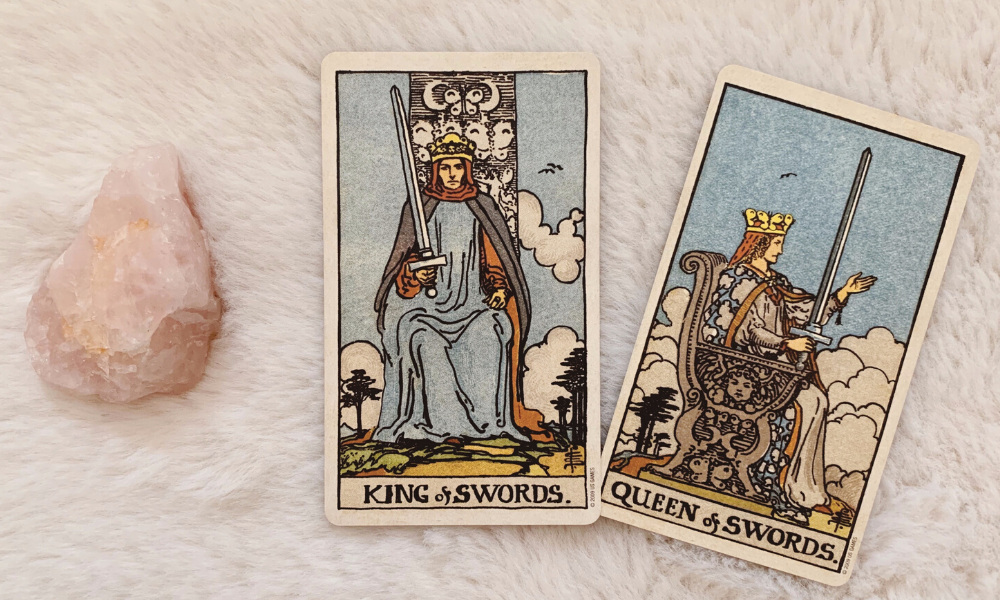 The King and Queen of Swords Together