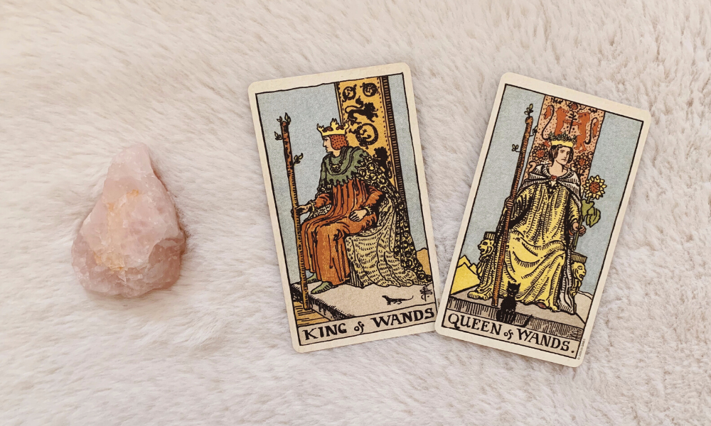 The King and Queen of Wands Together