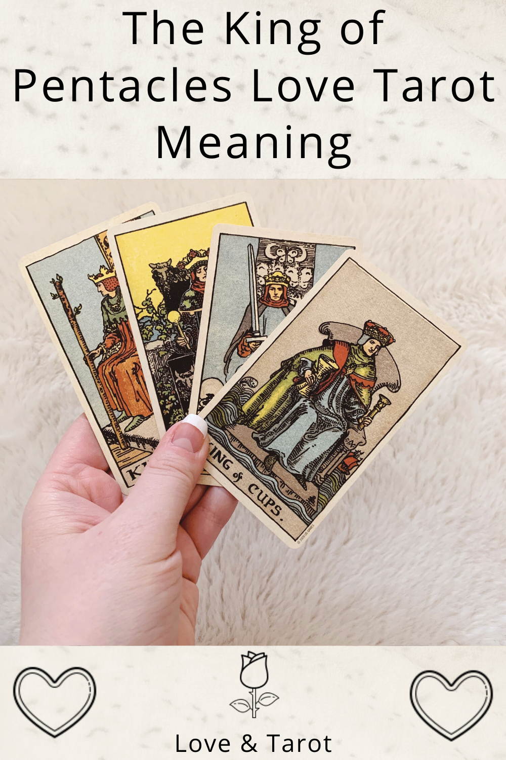 King of Pentacles Love Tarot Meaning