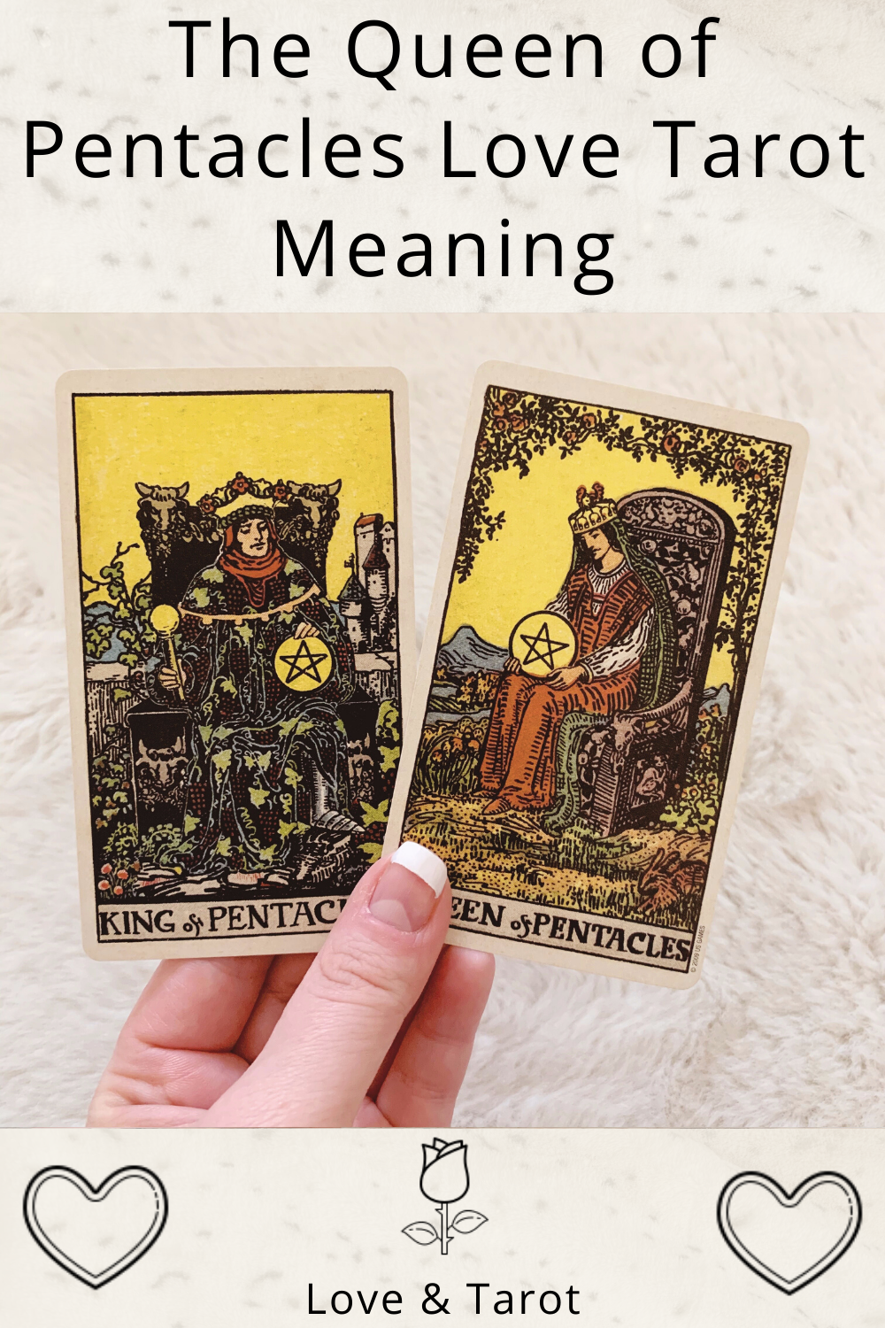Queen of Pentacles Love Tarot Meaning