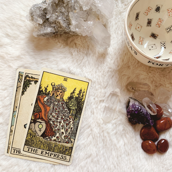 The Tarot Empress for relationships, love, outcome, future, ex returning.